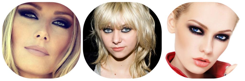 smoky eyes dlya blondinok