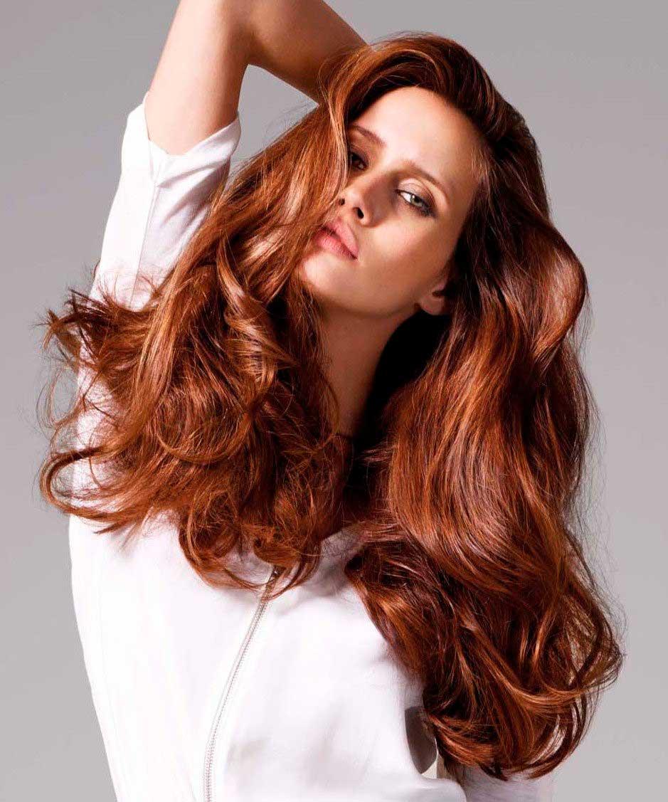 Кому идет золотисто-каштановый цвет волос