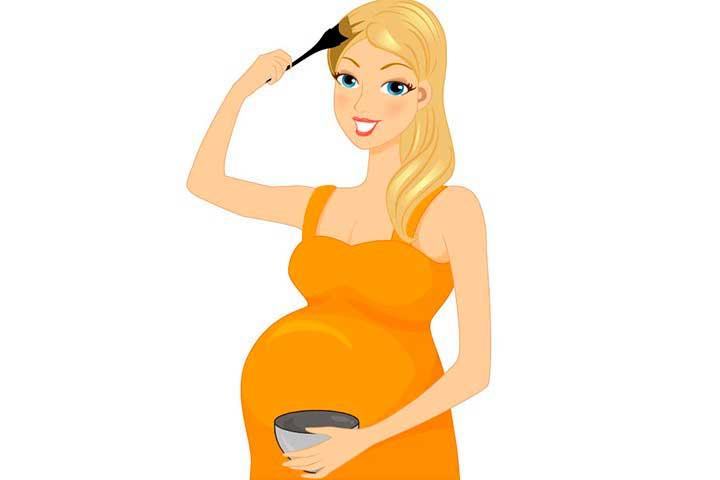 Можно ли беременным краситься