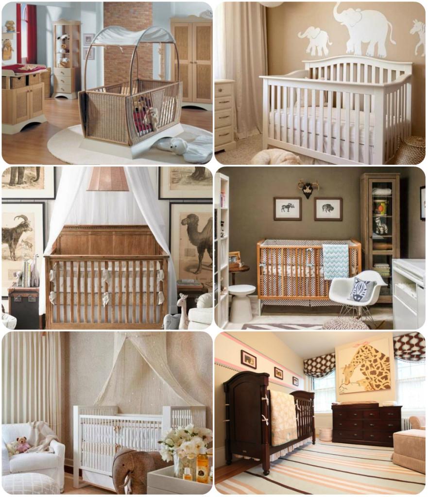 Интерьер детской комнаты для новорожденных фото