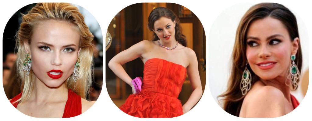 e84e706200ca370 Бижутерия к красному платью: создаем роковой образ!