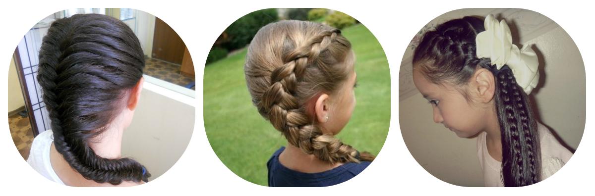 Фото причесок с косами на 1 сентября