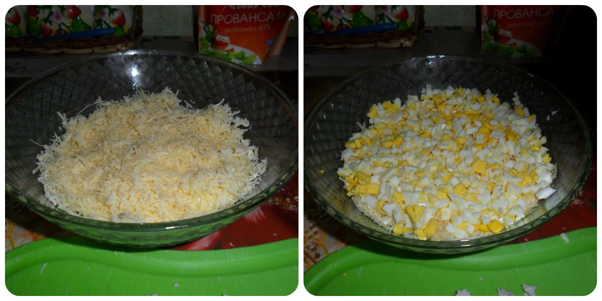Салат курица с ананасом орехи пошаговый рецепт с