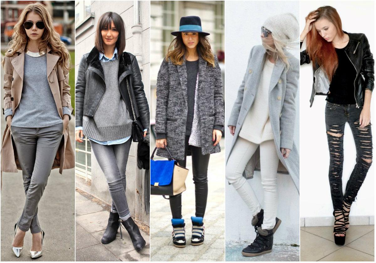 Что носить с джинсами верхнюю одежду