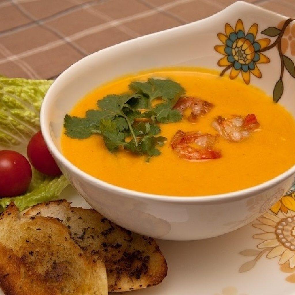 Как приготовит тыкву суп