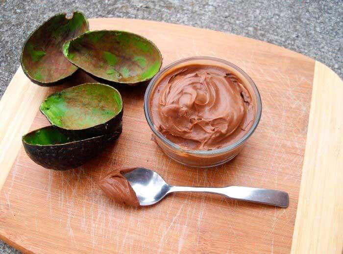 Авокадо с  медом для лица