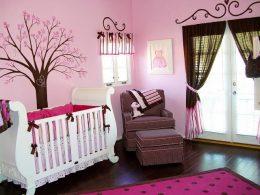 Дизайн детской комнаты для новорожденного: 100 идей с фото