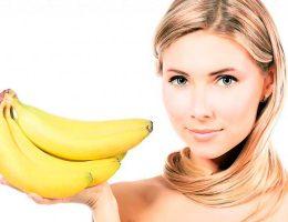 Маска из бананов для волос
